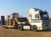 Φορτηγό νταλίκα μεταφοράς χωματουργικών μηχανημάτων