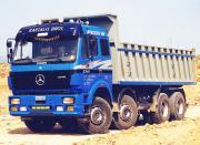 Φορτηγό ανατρεπόμενο  MERCEDES 3348 18 κυβικών